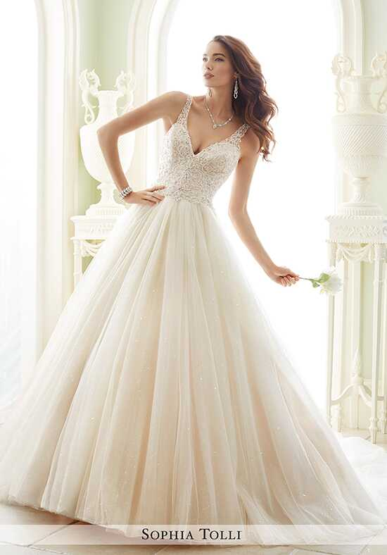 Sophia Tolli Y21673 Maddalena Ball Gown Wedding Dress