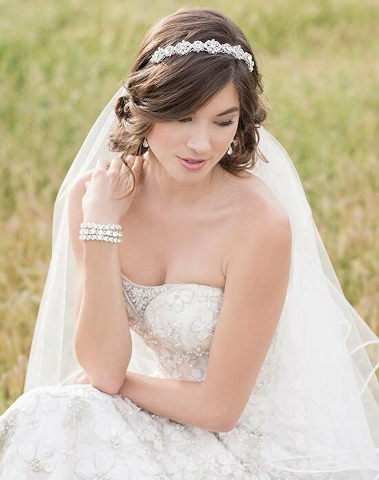 Bel aire bridal 6514 wedding headband the knot for Bel aire bridal jewelry