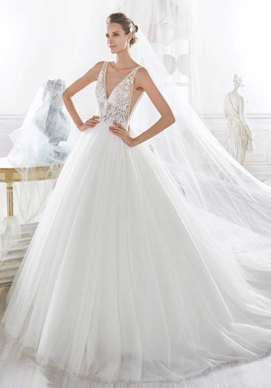 Nicole Collection 2018 NIAB18009 Ball Gown Wedding Dress