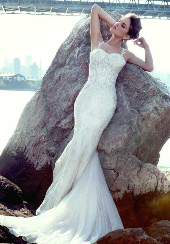 Stephen Yearick KSY79 Sheath Wedding Dress