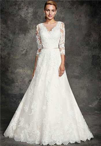 Ella Rosa BE273 A-Line Wedding Dress