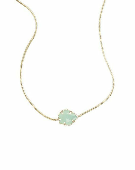 Kendra Scott Mara Necklace in Chalcedony Wedding Necklace photo