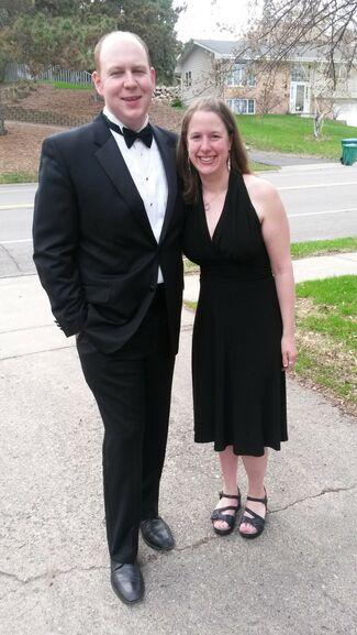 Sarah Schueffner And Kevin Borgendale Wedding Photo 1