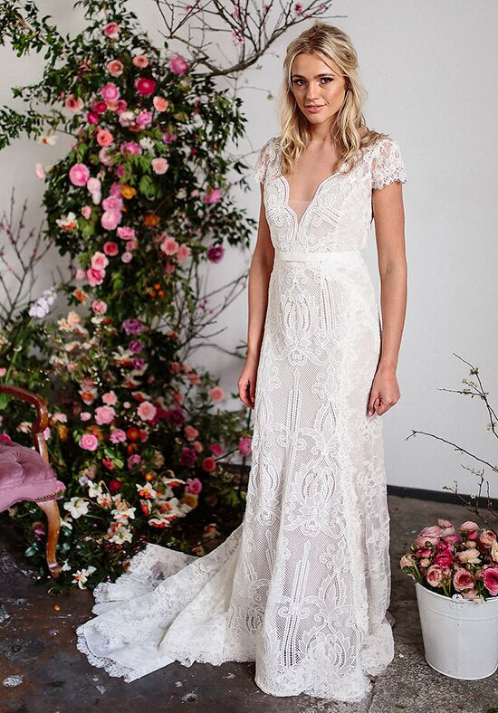 KAREN WILLIS HOLMES Rosemary Mermaid Wedding Dress