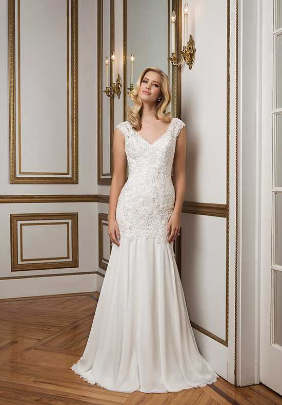Justin Alexander 8834 Sheath Wedding Dress
