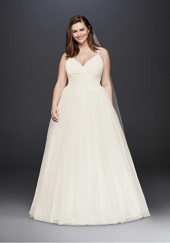 David's Bridal David's Bridal Collection Style 9WG3843 Mermaid Wedding Dress