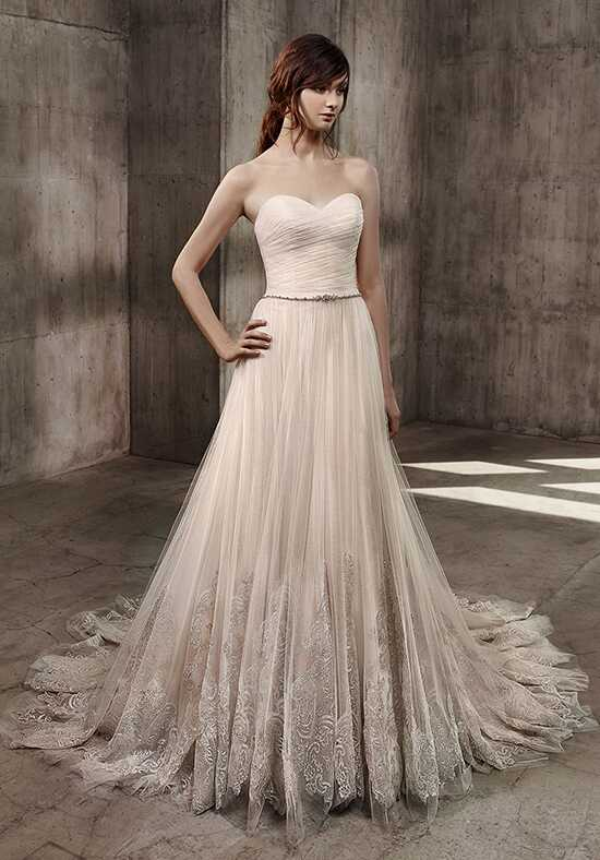 Badgley Mischka Belle Annie A-Line Wedding Dress
