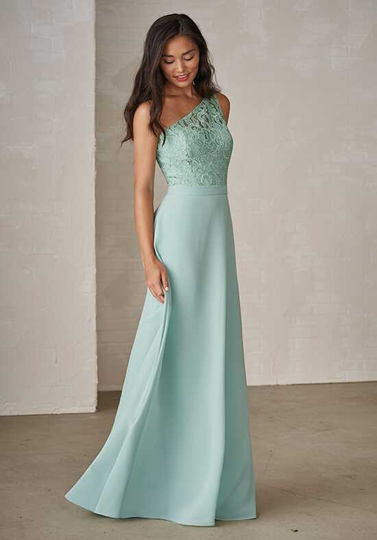 JASMINE P206009 One Shoulder Bridesmaid Dress