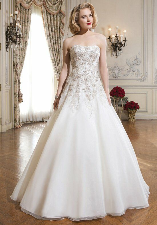 Justin Alexander 8738 A-Line Wedding Dress