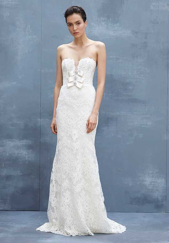 Amsale Laurel Sheath Wedding Dress