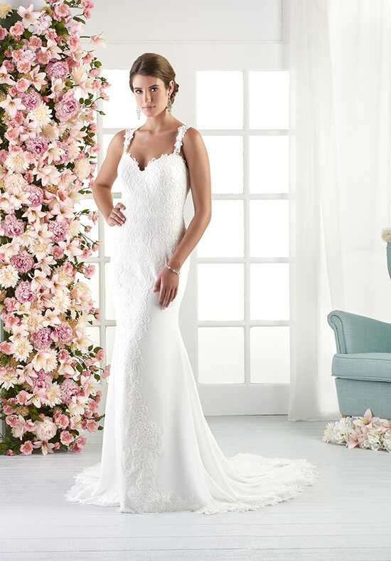 Bonny by Bonny Bridal 816 Sheath Wedding Dress