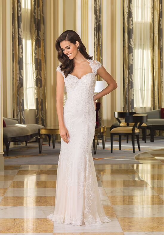 Justin Alexander 8860 Sheath Wedding Dress