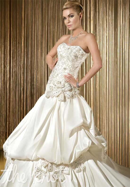 Demetrios 514 Mermaid Wedding Dress