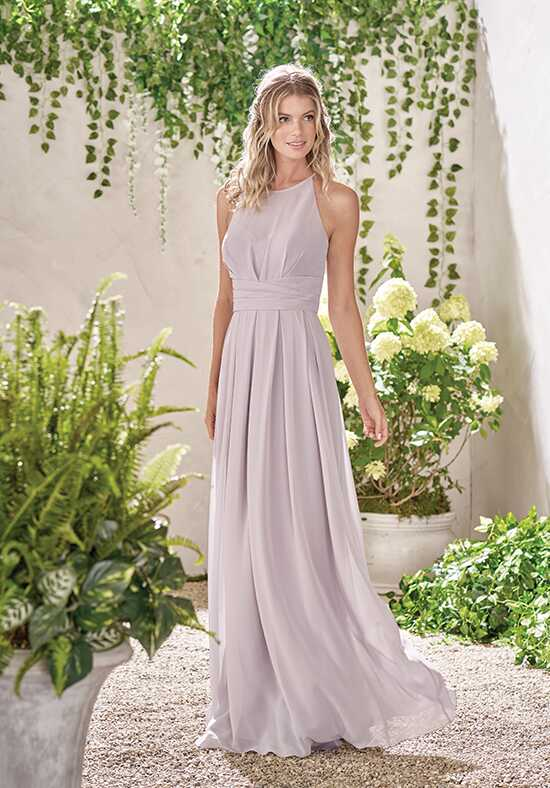 B2 by Jasmine B193009 Illusion Bridesmaid Dress