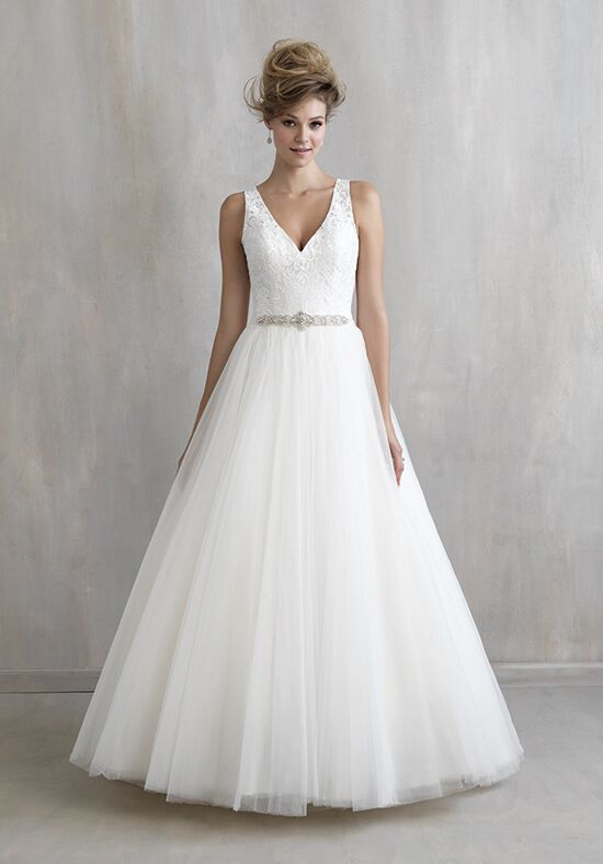 sweet simple princess tulle bridesmaid dress with bow