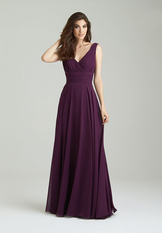 Purple Dresses for Maid of Honor