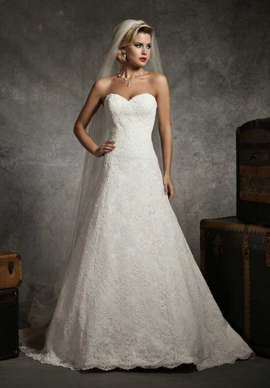 Justin Alexander 8627 A-Line Wedding Dress
