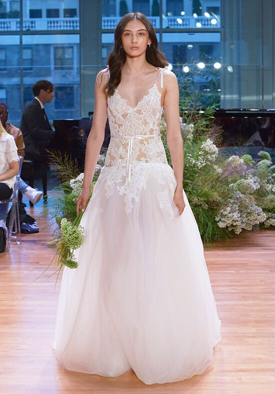 Monique Lhuillier Chantal A-Line Wedding Dress