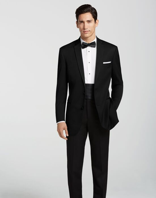 Men S Wearhouse Black By Vera Wang Notch Lapel Tuxedo