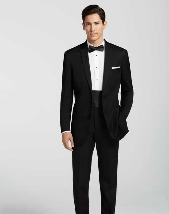 Men's Wearhouse BLACK by Vera Wang® Black Tuxedo Wedding Tuxedos + Suit photo