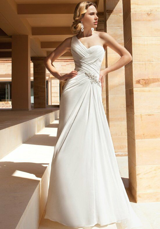 Demetrios DR189 A-Line Wedding Dress