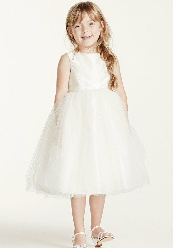 Flower Girl Dresses Davids Bridal White : David s bridal flower girl op dress the knot