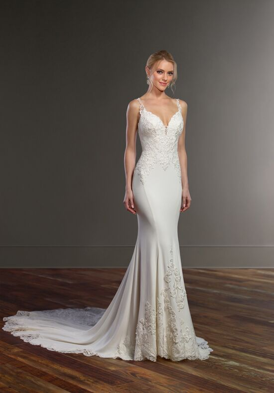 Martina Liana 828 Sheath Wedding Dress