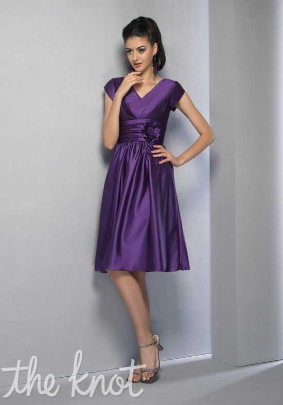 Modest Bridesmaids by Venus TS2167 V-Neck Bridesmaid Dress