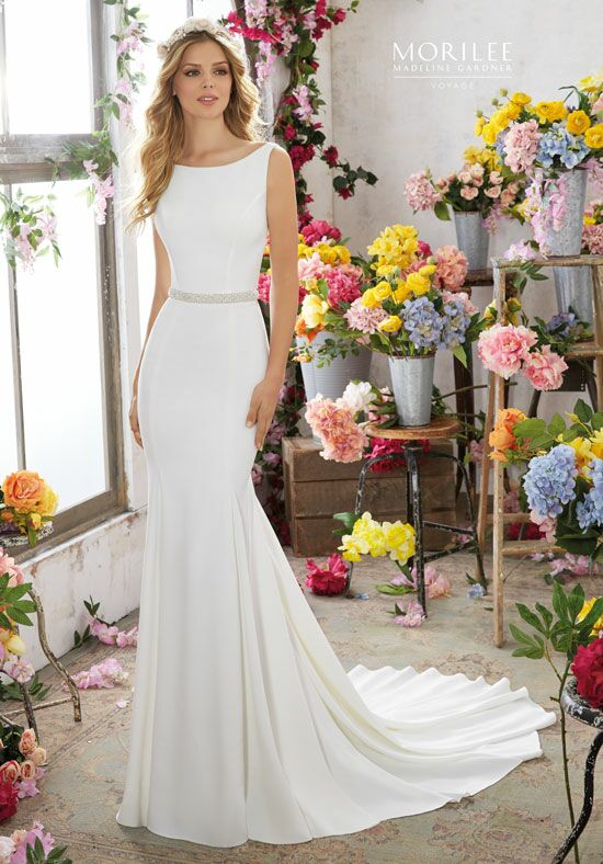 Morilee by Madeline Gardner/Voyage 6857 A-Line Wedding Dress