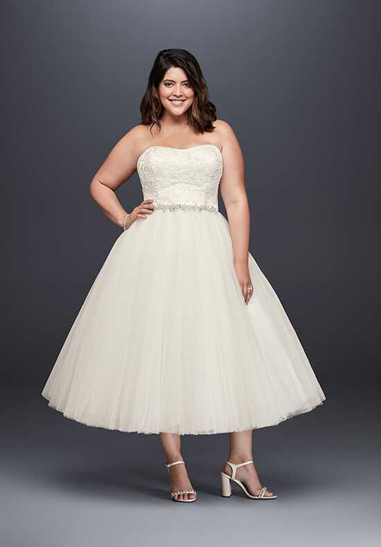 David's Bridal 9WG3876 Ball Gown Wedding Dress