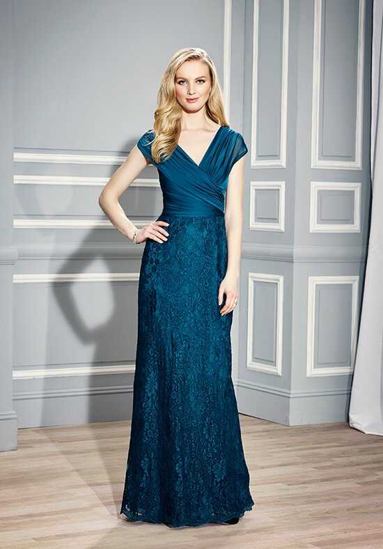 Val Stefani Celebrations MB7442 Blue Mother Of The Bride Dress