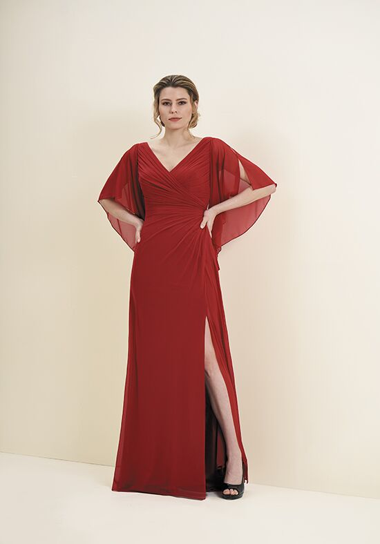 Jade J195052 Red Mother Of The Bride Dress