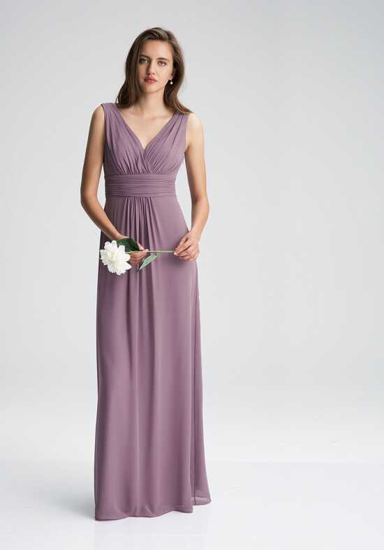 #LEVKOFF 7009 V-Neck Bridesmaid Dress