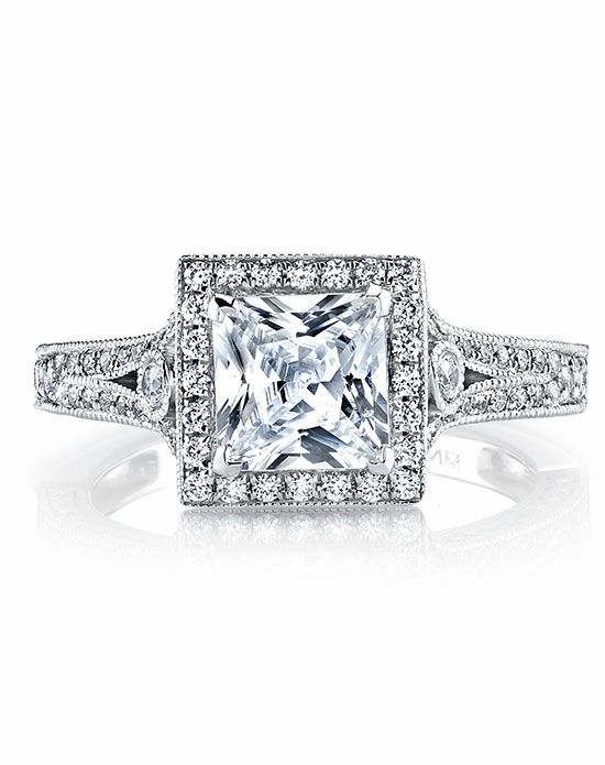 MARS Fine Jewelry Princess Cut Engagement Ring