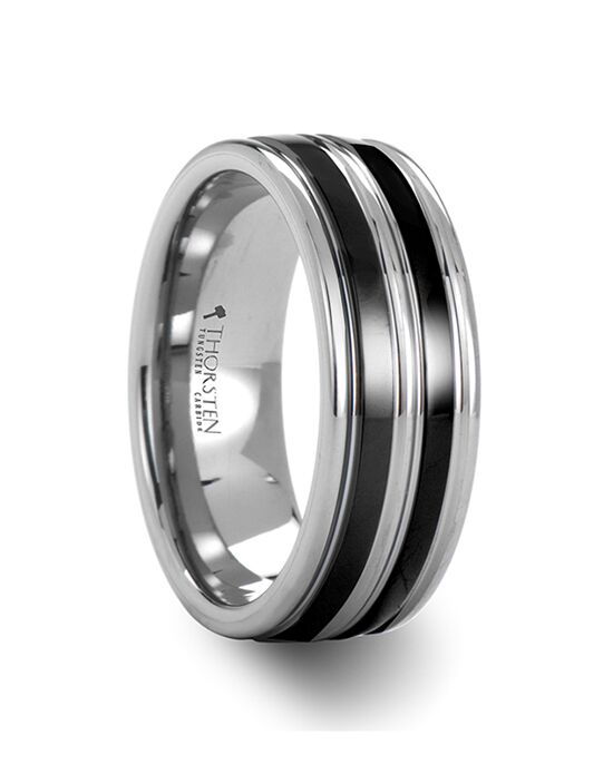 Mens Tungsten Wedding Bands W685-TGCI Tungsten Wedding Ring