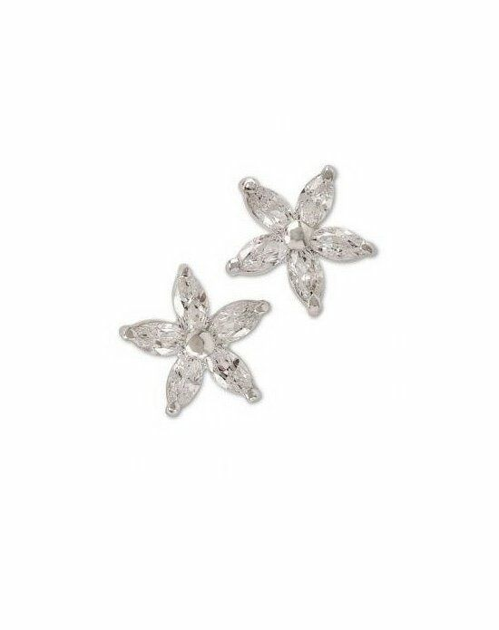 Anna Bellagio FIORELLA SWAROVSKI CRYSTAL FLOWER EARRINGS Wedding Earring photo