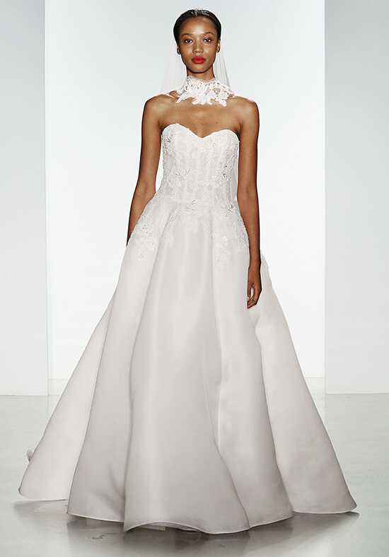 Amsale Harlyn Ball Gown Wedding Dress