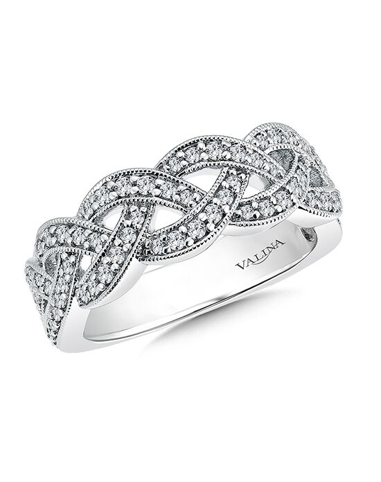 Valina R9475BW White Gold Wedding Ring