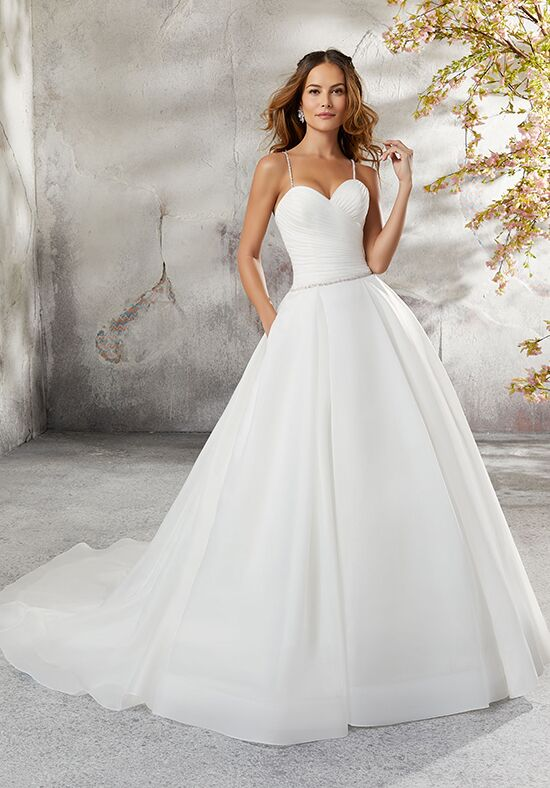 Morilee by Madeline Gardner/Blu 5696 / Laurissa Ball Gown Wedding Dress