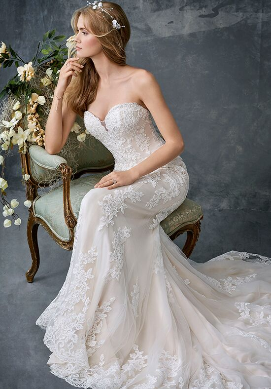 Kenneth Winston 1777 A-Line Wedding Dress
