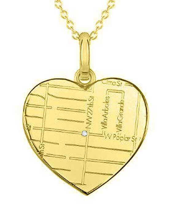 A.JAFFE Maps MAPP015 Wedding Necklace photo