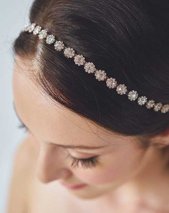 Davie & Chiyo | Hair Accessories & Veils Primrose Headband Pink, Silver Headband