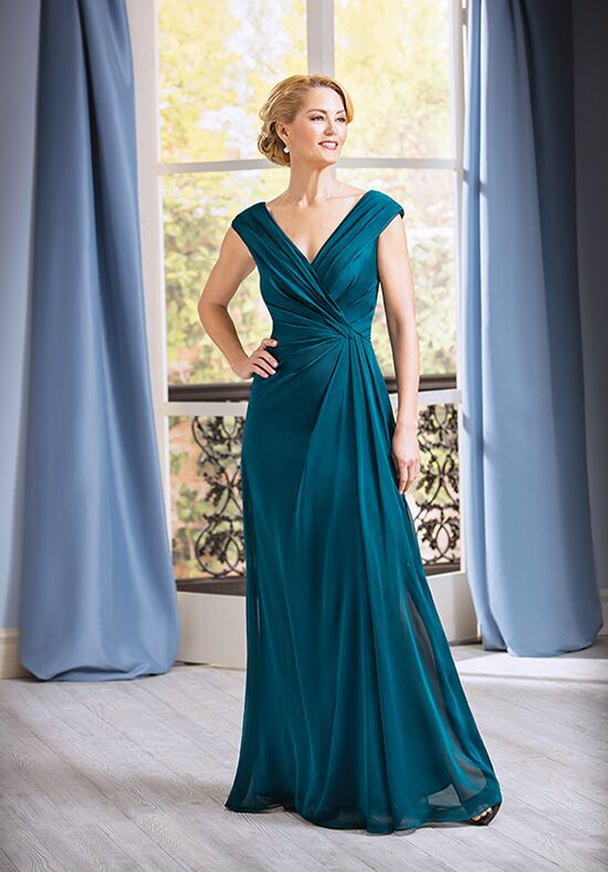 Jade J185055 Green Mother Of The Bride Dress