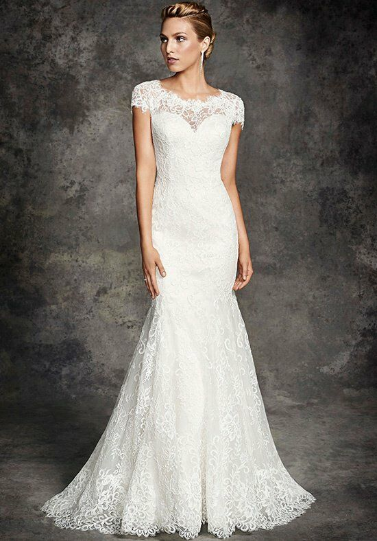 Ella Rosa BE261 Mermaid Wedding Dress