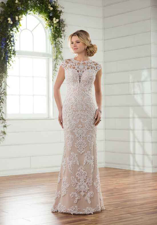 Essense of Australia D2376 Sheath Wedding Dress