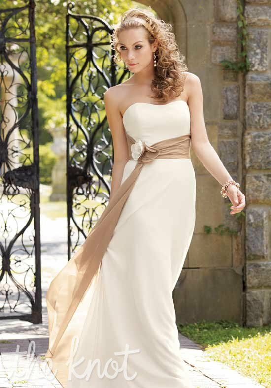 Couture Collection 1211 Strapless Bridesmaid Dress