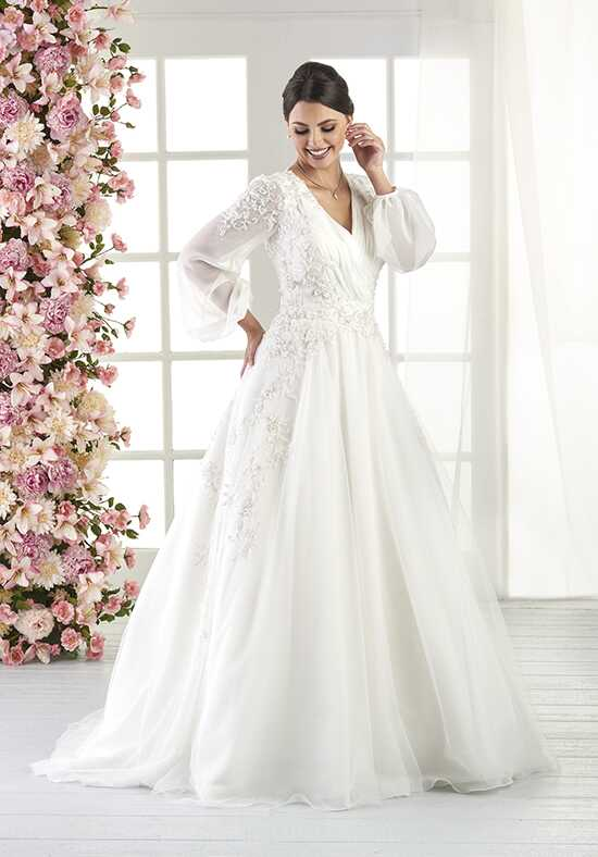 Bonny by Bonny Bridal 818 A-Line Wedding Dress