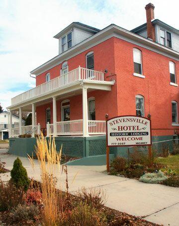 07 E 3rd St Stevensville Mt 59870 406 777 3087 Historic Hotel