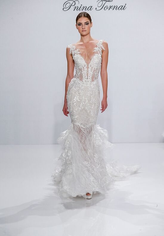 Pnina Tornai for Kleinfeld 4518 Mermaid Wedding Dress