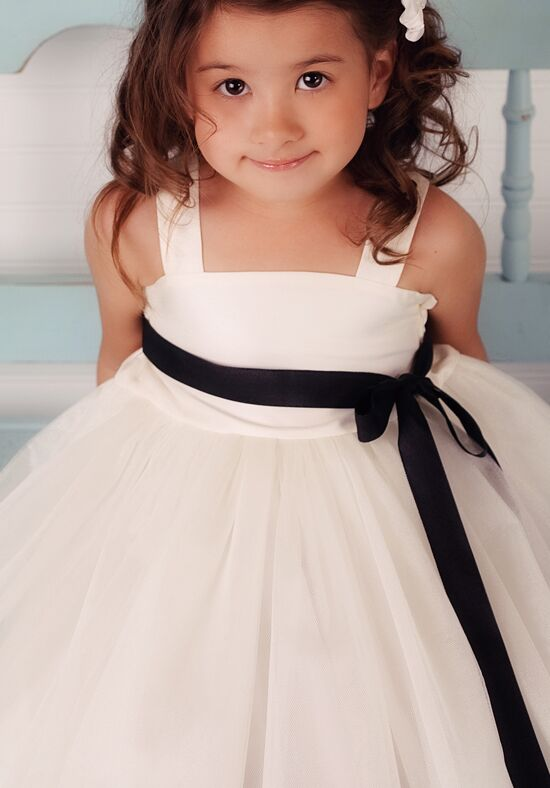 FATTIEPIE Eve Ivory Flower Girl Dress